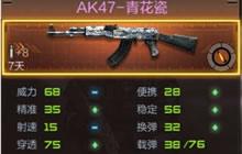 CF手游AK47-青花瓷武器数据介绍 助你成为大神
