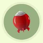 球球大作战,小火箭,孢子,皮肤
