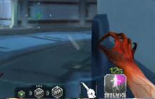 CF手游生化空间站实战视频 教你如何刀僵尸