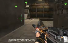 CF手游鲨皇君:新版M4A1黑龙风骚走位刀僵尸