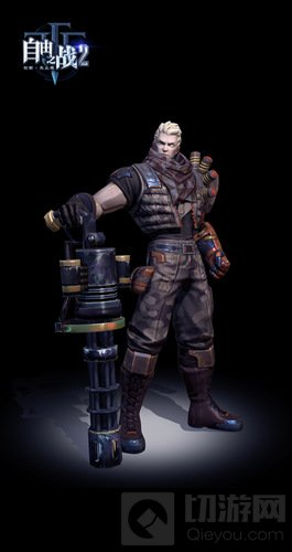 自由之战2打造次世代游戏画面 英雄模型大曝光