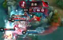 王者荣耀职业联赛WF对战LK刘邦惨死于地雷