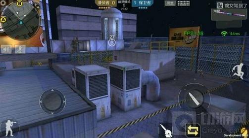 CF手游体验服幽灵模式地图屋顶机场地图介绍
