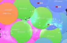 球球大作战真正的霸屏千亿亿亿吨 12位数字体重