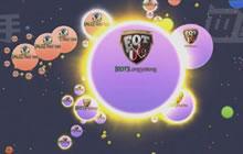 球球大作战全球总决赛败者组第1场 EOT获胜