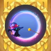 球球大作战,魔法喵公主,光环,皮肤