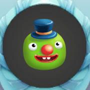 球球大作战,豌豆小丑,孢子,皮肤