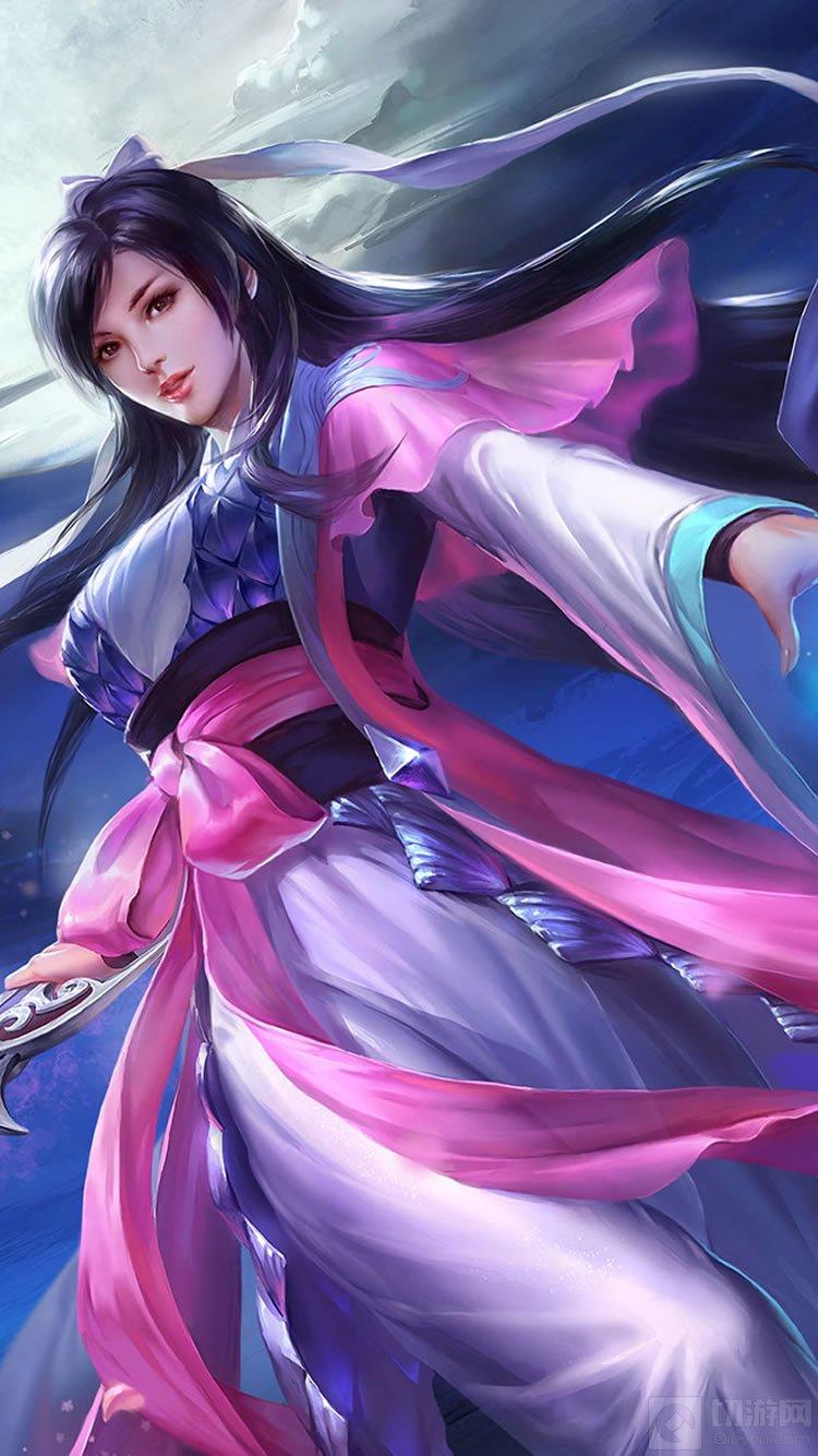游戏资讯_英魂之刃手游女角色高清壁纸 清纯性感全都有(2)-游戏图片 - 切游网