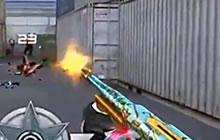 CF手游DiDi解说 金韵汤姆逊机枪实战测试视频
