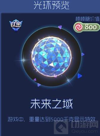 球球大作战未来之域钛金光环获取途径及图鉴
