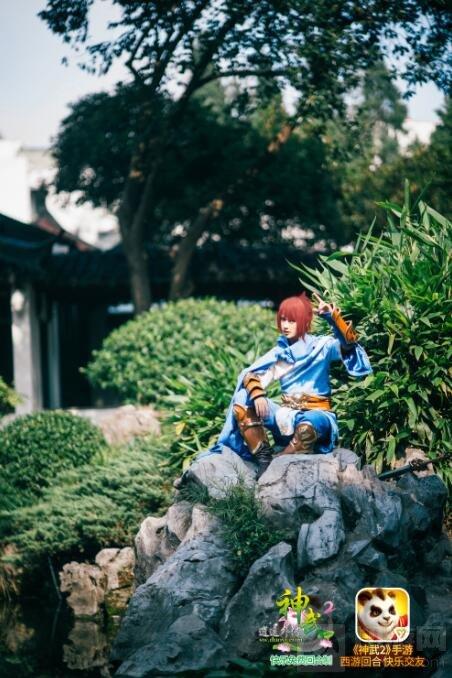 小哥哥带你去冒险 神武2神还原cosplay打破次元壁