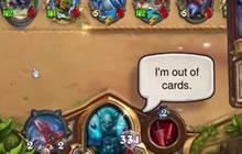炉石传说无限叠甲站再现 只用三张牌就能赢