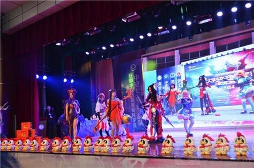 2017QGC高校赛芜湖赛区总冠军安徽信息工程学院