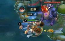王者荣耀刘禅解说视频分享 多段控制强行开团