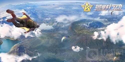 攀登火箭塔游走环形山 荒野行动新地图抢先看