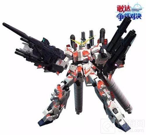 敢达争锋对决高达UC主题月 全装甲独角兽出击