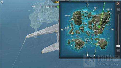 CF手游海岛东侧航线选择哪个点降落更好分析