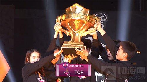 HU8三年坚持终圆梦 TOP新王加冕BPL冬季赛总冠军
