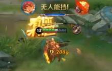 王者荣耀花木兰实战操作视频 花木兰打法简析