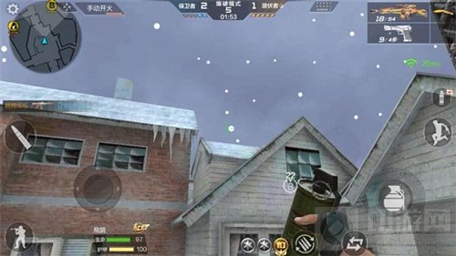 CF手游鹰眼雪地投掷武器使用攻略 新手必看