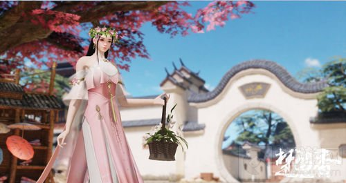 小仙女的花环 楚留香春日系列时装家具全面上新