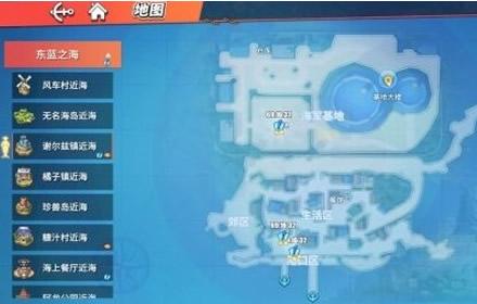 航海王热血航线藏宝图在哪 全地图藏宝图位置坐标一览