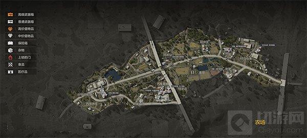 暗区突围全地图物资分布在哪里 暗区突围全地图物资分布地点